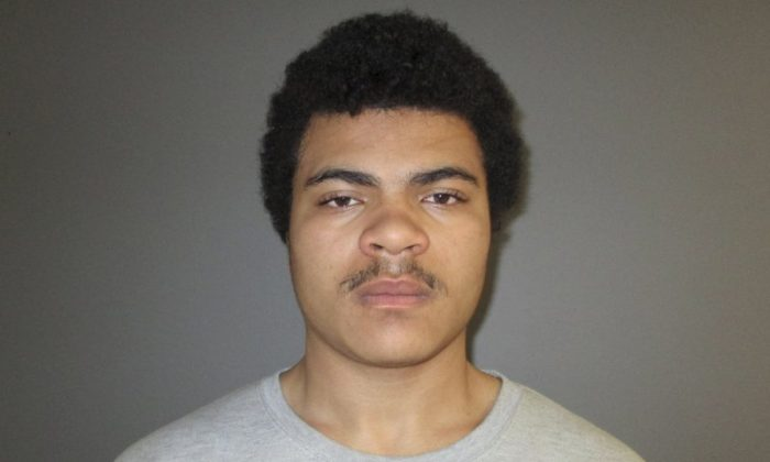 This Monday, Jan. 28, 2019 booking photo provided by Connecticut State Police shows Marcus Fisher. (Connecticut State Police via AP)