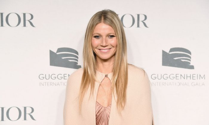 Gwyneth Paltrow attends the Guggenheim International Gala Dinner made possible by Dior at Solomon R. Guggenheim Museum on Nov. 15, 2018 in New York City.  (Nicholas Hunt/Getty Images for Dior)