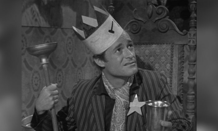 "Dick Miller in the role of Walter Paisley in Roger Corman's 1959 horror film ""A Bucket of Blood."" (Roger Corman ""A Bucket of Blood"" 1959/Public Domain)."