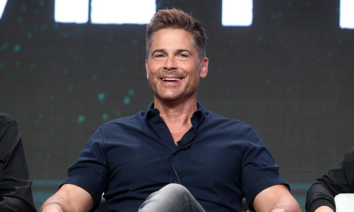 Rob Lowe speaks during the 2017 Summer Television Critics Association Press Tour in Beverly Hills, California, on July 28, 2017. (Frederick M. Brown/Getty Images)