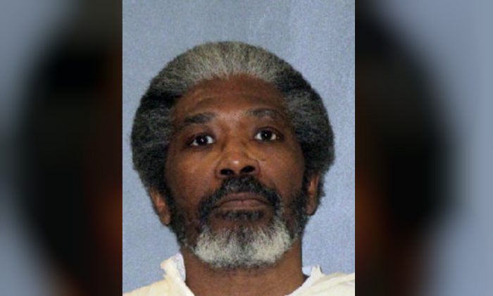 This undated photo released by Texas Department of Criminal Justice shows death row inmate Robert Jennings. The 61-year-old Texas man on death row was set to be executed on Jan. 30, 2019. (Texas Department of Criminal Justice via AP)