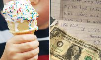 Boy Returns Mom's Ice Cream Money with a Touching Note Saying How She Needs It More
