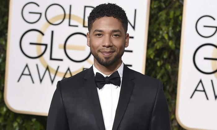 Actor and singer Jussie Smollett arrives at the 73rd annual Golden Globe Awards in Beverly Hills, Calif., on Jan. 10, 2016. (Jordan Strauss/Invision/AP, File)
