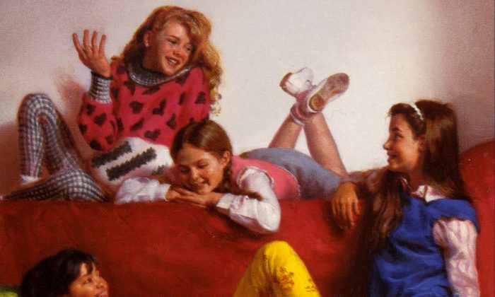The Baby-Sitters Club is making a comeback on Netflix. (Courtesy of Scholastic)