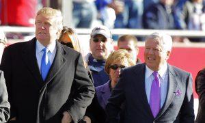 New England Patriots Owner Robert Kraft Praises President Trump