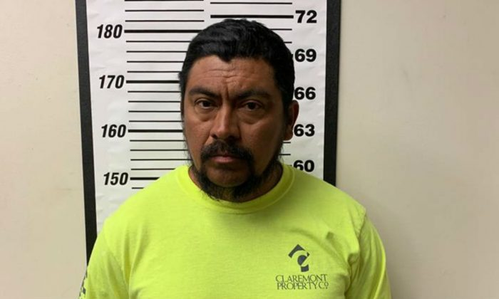 Marvin Yovani Mejia Ramos, 50, was arrested at a traffic stop in Texas on Jan. 30, 2019. (Pct. 4 Constable's Office, Montgomery County Texas)