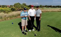 Trump Golfs With Tiger Woods, Jack Nicklaus at His Club in Florida