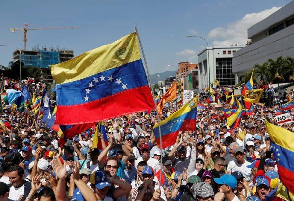 Rally against Venezuelan President Nicolas Maduro's government in Caracas