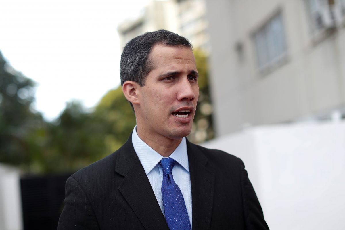 interim president Juan Guaido