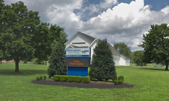 Holmdel High School in Holmdel, New Jersey. (Screenshot via Google Maps)