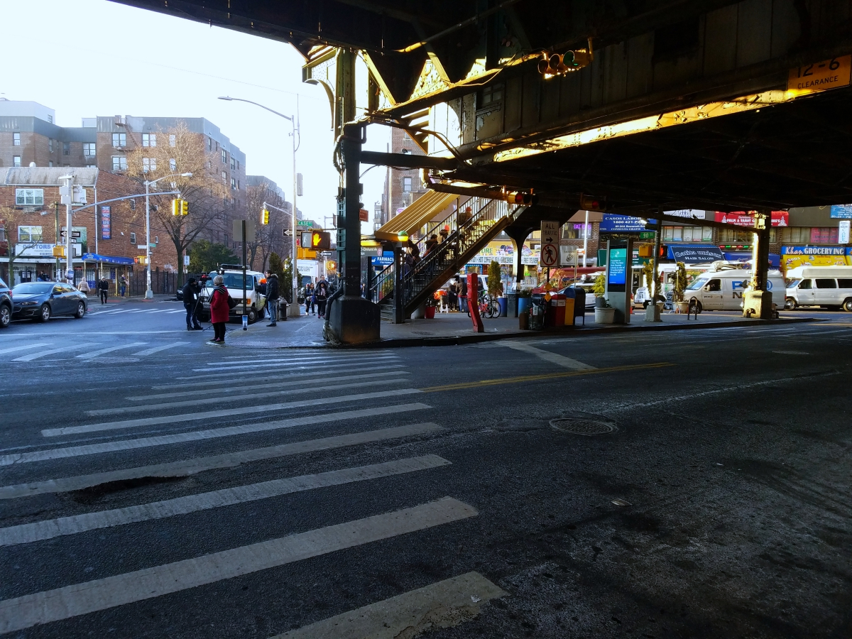 90th Street subway station in Queens.