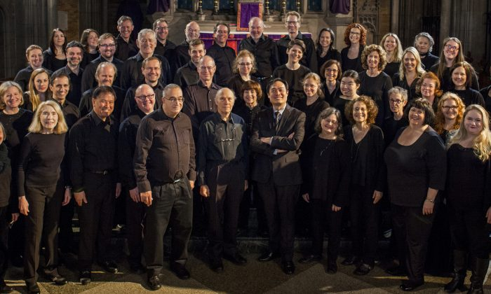 """Central City Chorus will perform """"The Tudors"""" at the Saint Ignatius of Antioch Episcopal Church in New York on March 9, 2019. (Sean Scanlin)"""