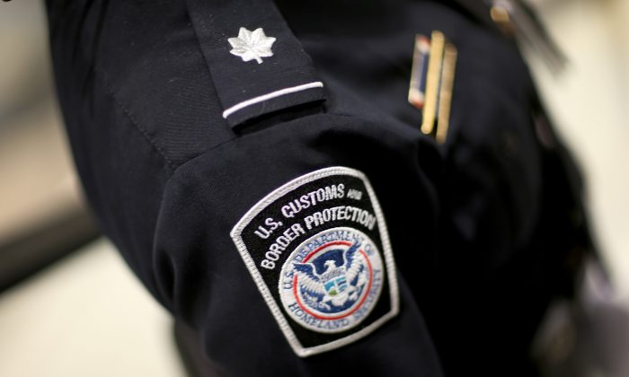 A U.S. Customs and Border Protection officer in a file photo. (Joe Raedle/Getty Images)