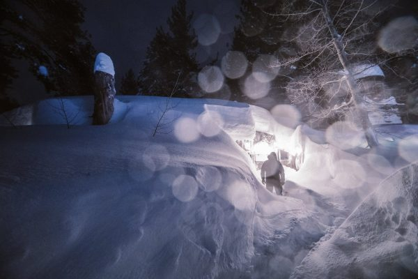 Mammoth Mountain shows winter