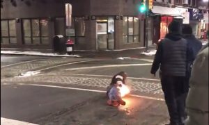 Taser Sets Man On Fire Outside Philadelphia Steak Restaurant