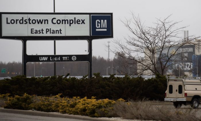 An exterior view of the GM Lordstown Plant in Lordstown, Ohio, on Nov. 26, 2018. (Jeff Swensen/Getty Images)