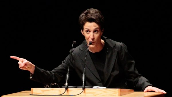 MSNBC's Rachel Maddow at Ball State University.