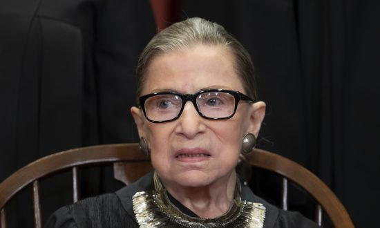 Ruth Bader Ginsburg Makes First Public Appearance Since Latest Cancer Treatment