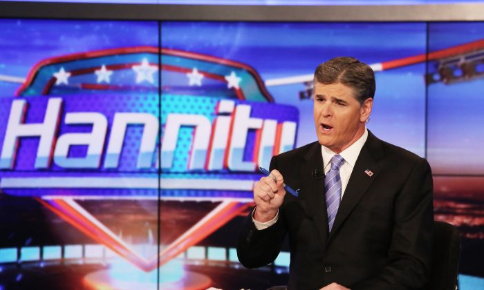 Fox News host Sean Hannity in a file photograph. (Paul Zimmerman/Getty Images)