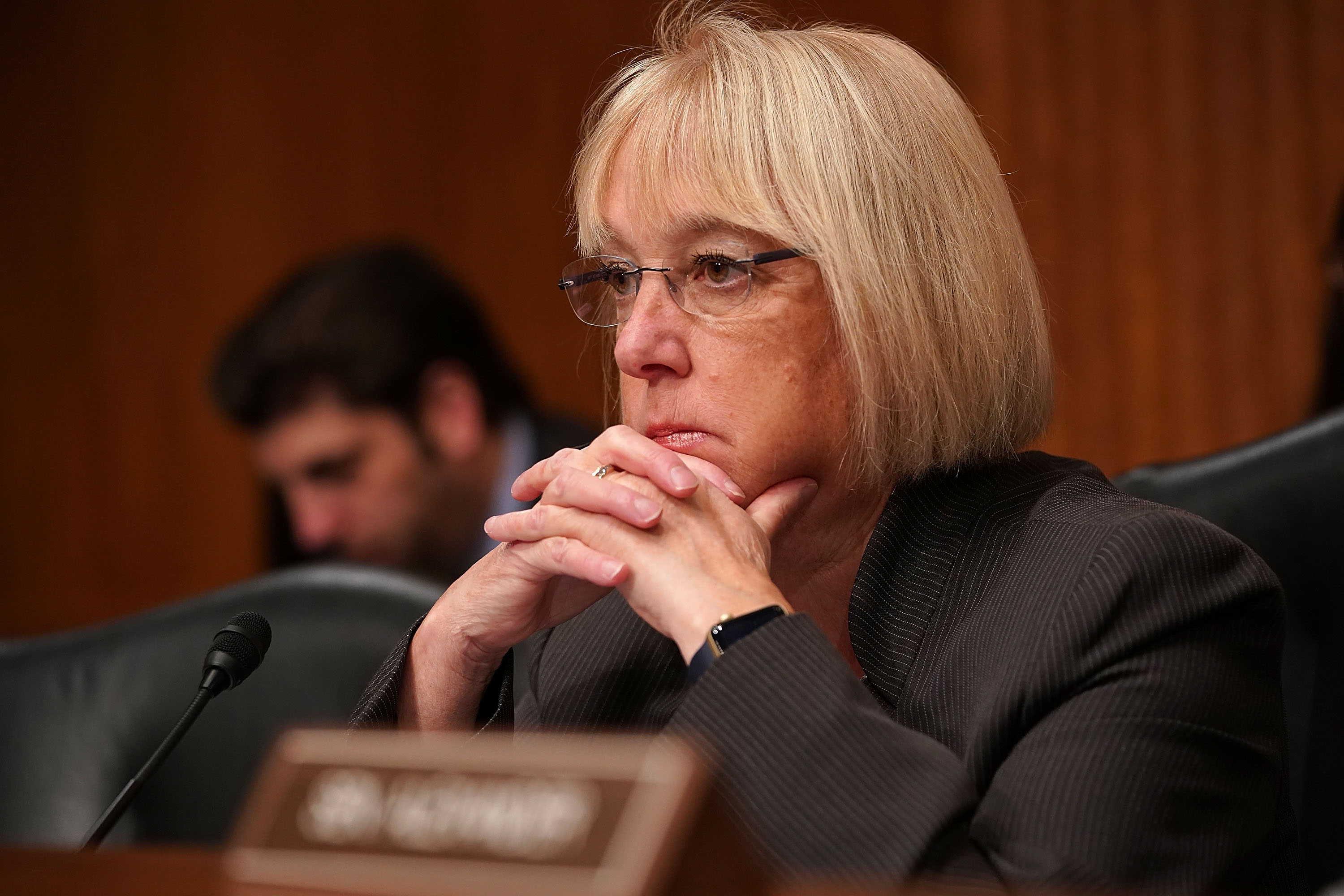 Sen. Patty Murray in the Dirksen Senate Office Building on Capitol Hill