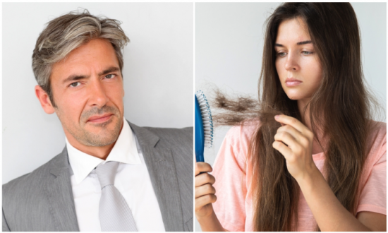 8 Things Your Hair Says About Your Health—#8 Can Cause Early Graying