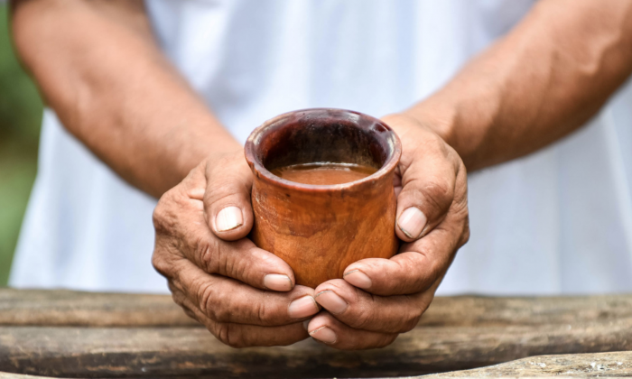 "Mayan xocolatl, or ""bitter water."" (Courtesy of Choco Story Uxmal)"