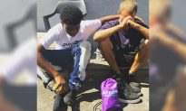 14-Year-Old Saved from Crime-Ridden Neighborhood Gives Homeless Man Shoes Off His Feet
