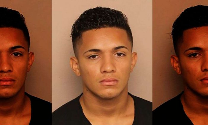 Police say Jordan Ponce was involved in Monday night's attempted robbery. (Metro Nashville Police Department)