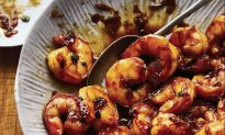 Shrimp in Coconut Caramel Sauce
