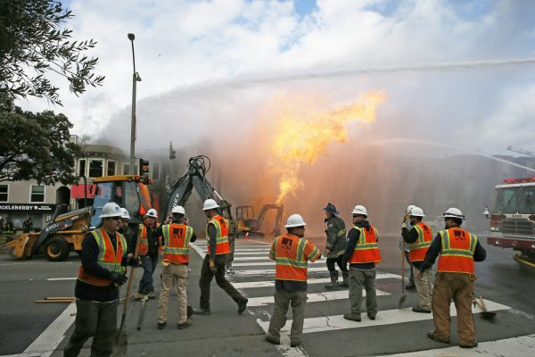 CORRECTION San Francisco Gas Explosion
