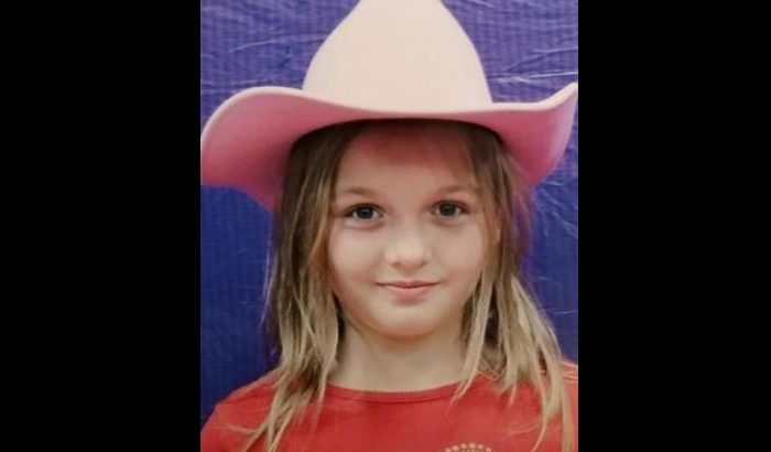 Serenity Dennard, 9, went missing in Pennington County, S.D., on Feb. 2, 2019. As of Feb. 7, 2019, she had not been located. (South Dakota Child Abduction Alert System)