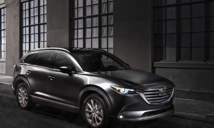 2019 Mazda CX-9. (Courtesy of Mazda)