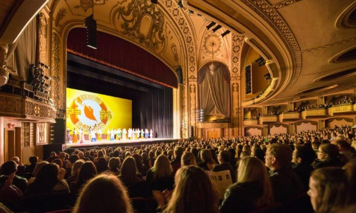 Shen Yun Performing Arts performed in Omaha, Nebraska, on Feb. 3, 2019. (Hu Chen/The Epoch Times)