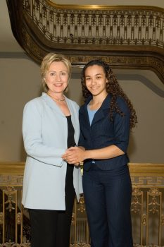 Seda with Clinton