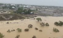 Zinc, Lead Freight Train Engulfed by Floodwater, Queensland Farmers Devastated