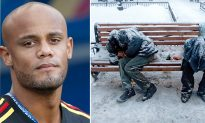 Manchester City's Vincent Kompany Teams Up With Mayor To Tackle Homeless Crisis