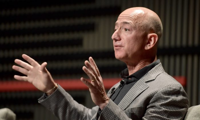 Amazon Chief Executive Jeff Bezos in San Francisco on Oct. 15, 2018. (Matt Winkelmeyer/Getty Images for WIRED25 )