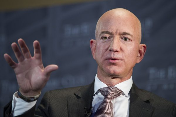 Jeff Bezos, Amazon founder