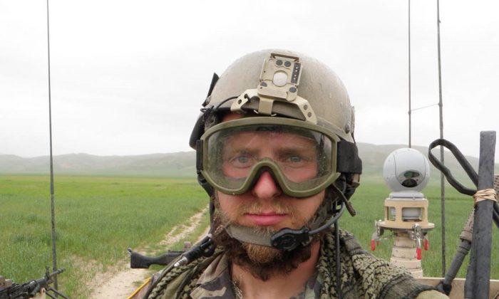 Staff Sergeant Kevin Flike in Kunduz, Afghanistan 2010. (Courtesy of Kevin Flike)