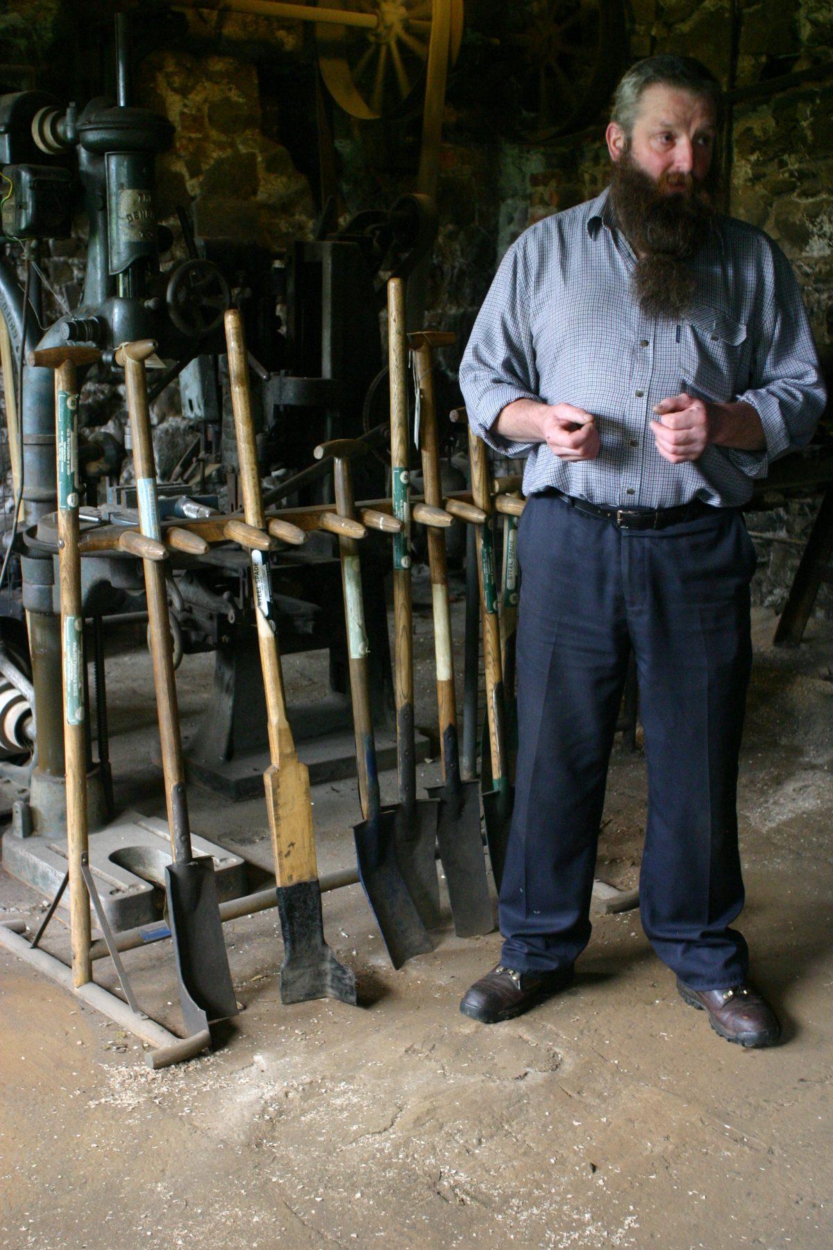 Spades handmade and man