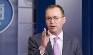 Mick Mulvaney's Lawyer Denies Ukraine Claims Reported in John Bolton's Book