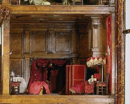 The Lying in room of the Oortman dollhouse