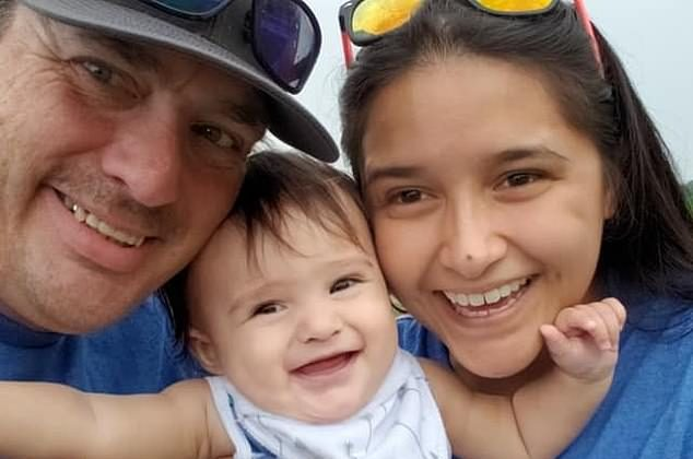 According to multiple reports, Randy Horn shot dead his wife Ashley Horn, 27, and their 15-month-old daughter Ranly before turning the gun on himself, in Blachard, Texas, on Feb. 11, 2019. (Facebook)