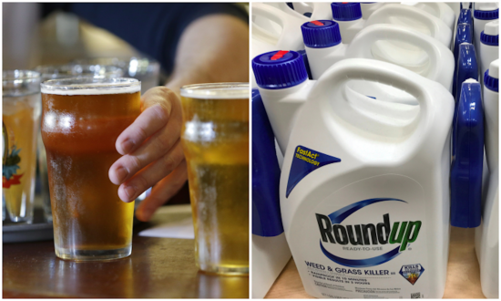 Active Ingredient in Weedkiller Found in 19 of 20 Top Beer and Wine Brands, Study Says