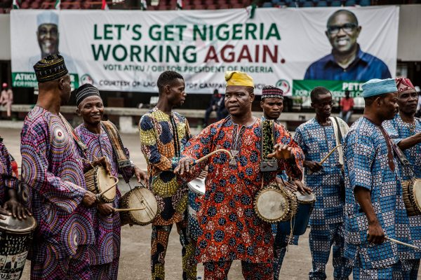 People's Democratic Party (PDP) supporters