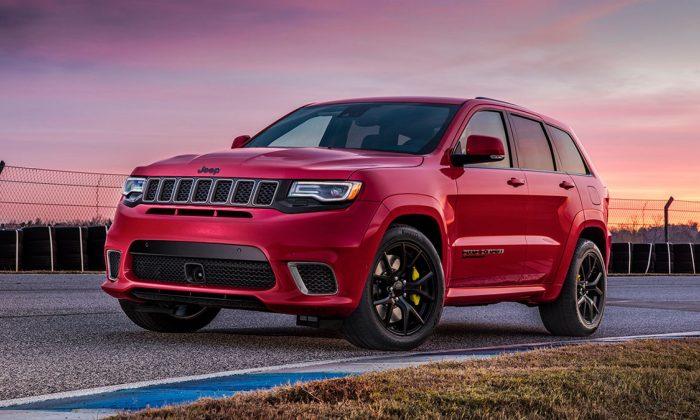 2019 Jeep Grand Cherokee. (Courtesy of Jeep)