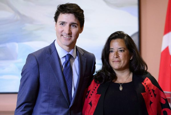 Justin Trudeau and Jodie Wilson-Raybould