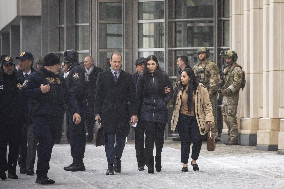 El Chapo wife leaves court