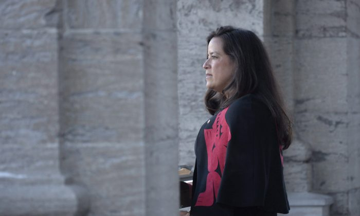 Former Canadian veterans affairs and justice minister Jody Wilson-Raybould. (Reuters/Chris Wattie/File Photo)