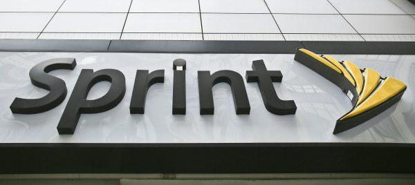Sprint store logo in NY